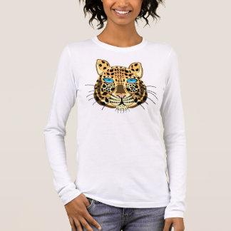 Leopardo Camiseta De Manga Larga
