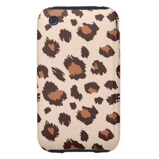leopardo de iPhone3G Carcasa Resistente Para iPhone