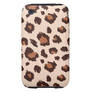 leopardo de iPhone3G iPhone 3 Tough Cárcasa