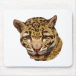 Leopardo nublado alfombrilla de ratones