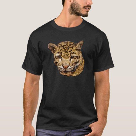 Leopardo nublado camiseta