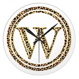 Leopardo W Reloj Redondo Grande
