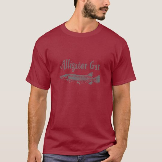 Lepisosteus del cocodrilo camiseta