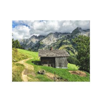 Les Aravis, Haute-Saboya Lienzo