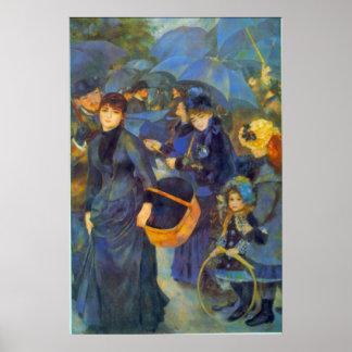 Les Para Pluies de Pedro Renoir Posters