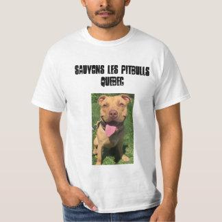 Les Pitbulls Quebec de Sauvons Camiseta