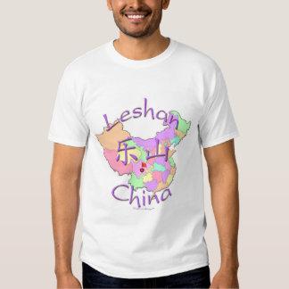 Leshan China Camisas