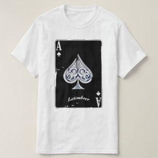 Letimbrer-As de clavija negro Camiseta
