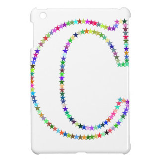 Letra C de la estrella del arco iris