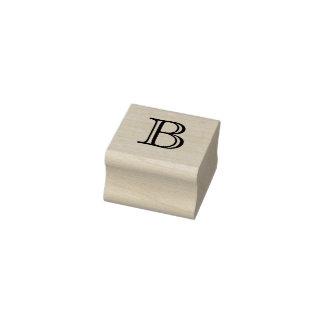 Letra clásica B del monograma sello de 1 pulgada
