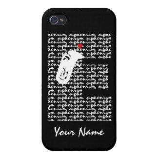 Letra E del Euphonium iPhone 4 Cárcasas