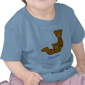 Letra J Initial Custom Name Shirt del alfabeto del Camiseta