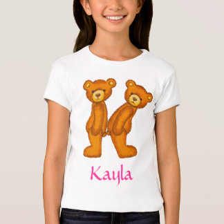 Letra K Initial~Custom Name~Shirt del alfabeto del Camisas