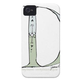 Letra mágica D del diseño tony de los fernandes Carcasa Para iPhone 4 De Case-Mate
