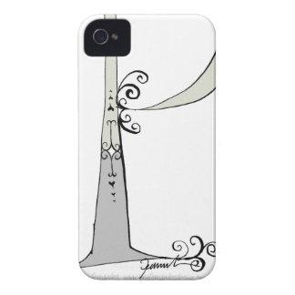Letra mágica P del diseño tony de los fernandes Funda Para iPhone 4 De Case-Mate