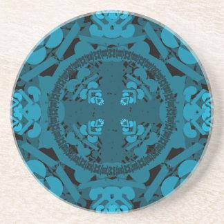 letra uno-d-espejo-hoja-azul apoyavasos