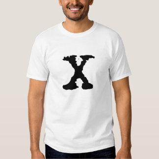 Letra X Camisetas