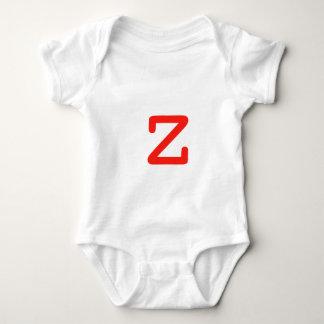 Letra Z Camiseta