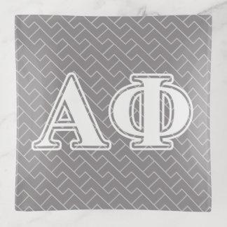 Letras alfa de Burdeos de la phi