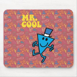 Letras amarillas de Sr. Cool el | Alfombrilla De Ratón