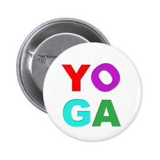 Letras de la yoga pins