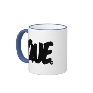 Letras de QUE Taza De Café