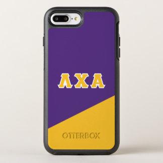 Letras del Griego de la alfa el | de la ji de la Funda OtterBox Symmetry Para iPhone 7 Plus