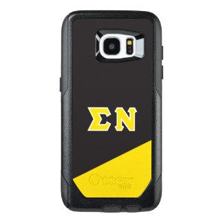 Letras del Griego de NU el | de la sigma Funda OtterBox Para Samsung Galaxy S7 Edge