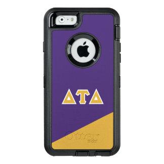 Letras del Griego del delta el | del Tau del delta Funda OtterBox Defender Para iPhone 6