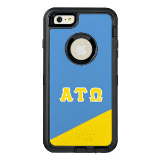 Letras del Griego del Tau Omega el | de la alfa Funda OtterBox Defender Para iPhone 6 Plus