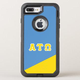 Letras del Griego del Tau Omega el | de la alfa Funda OtterBox Defender Para iPhone 7 Plus