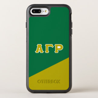Letras gammas alfa del Griego de rho el   Funda OtterBox Symmetry Para iPhone 7 Plus