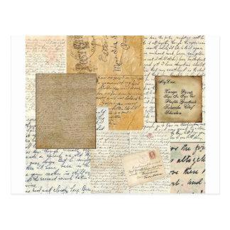 letras postal