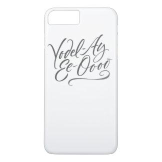 """Letras Yodelling de la caligrafía """"Modo de cantar Funda Para iPhone 8 Plus/7 Plus"""