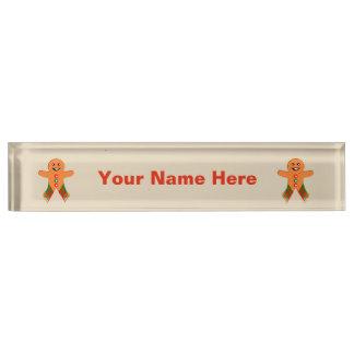 Letrero del personalizado del hombre de pan de