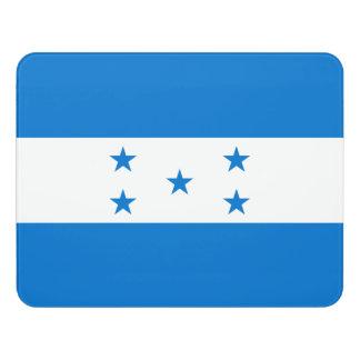 Letrero Para Puerta Bandera de Honduras