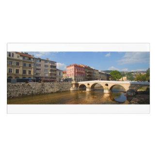 Letrero Para Puerta Ciudad de Sarajevo, capital de Bosnia y