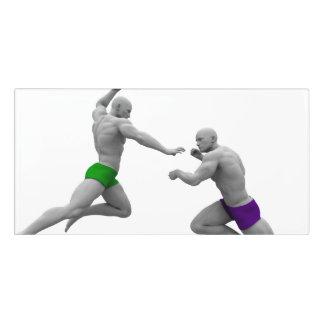 Letrero Para Puerta Concepto de los artes marciales para luchar y la