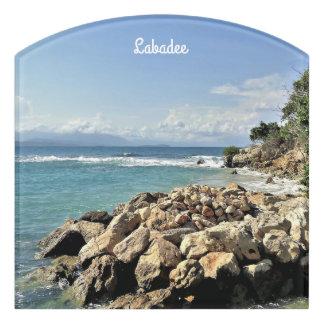 Letrero Para Puerta Costa costa escénica de Labadie