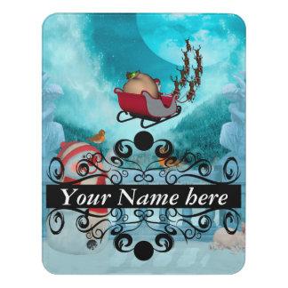 Letrero Para Puerta Navidad diseño, Papá Noel