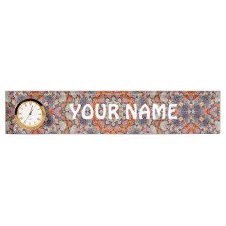 Letrero rocoso del escritorio de los caminos con