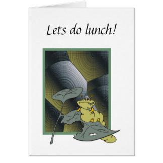 ¡Lets almuerza! Tarjeta