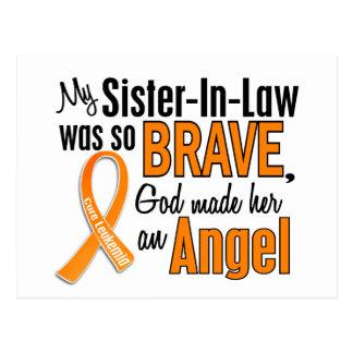 Leucemia de la cuñada del ángel postal