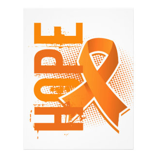Leucemia de la esperanza 2 folleto 21,6 x 28 cm