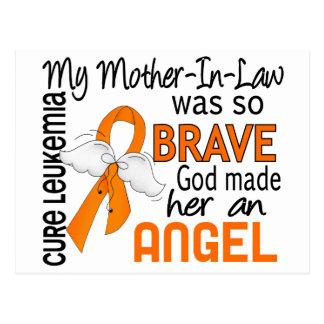 Leucemia de la suegra del ángel 2 postal