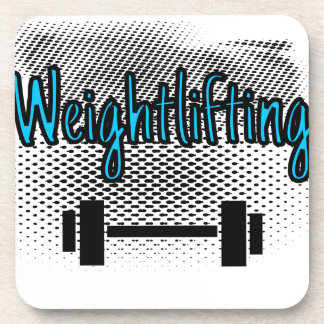 Levantamiento de pesas apoyavasos