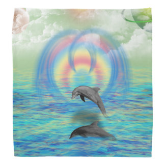 Levantamiento del delfín bandana