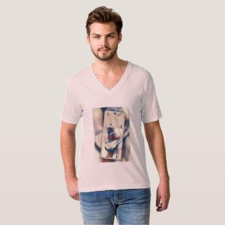 Leve, confortável e bonita camiseta