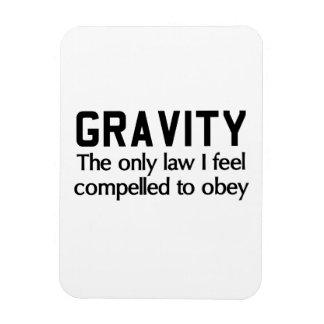 Ley de la gravedad iman flexible