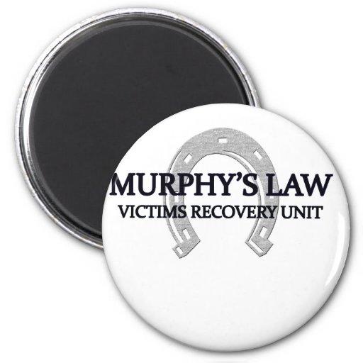 ley de los murphys imán